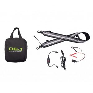 OEJ | 130cm LED Dual Colour Flexible Light Strip Kit | white/orange | Dimmer | New